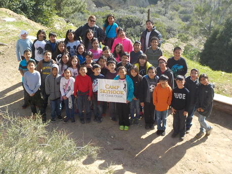 4th Grade Science Camp Trip to Clear Creek